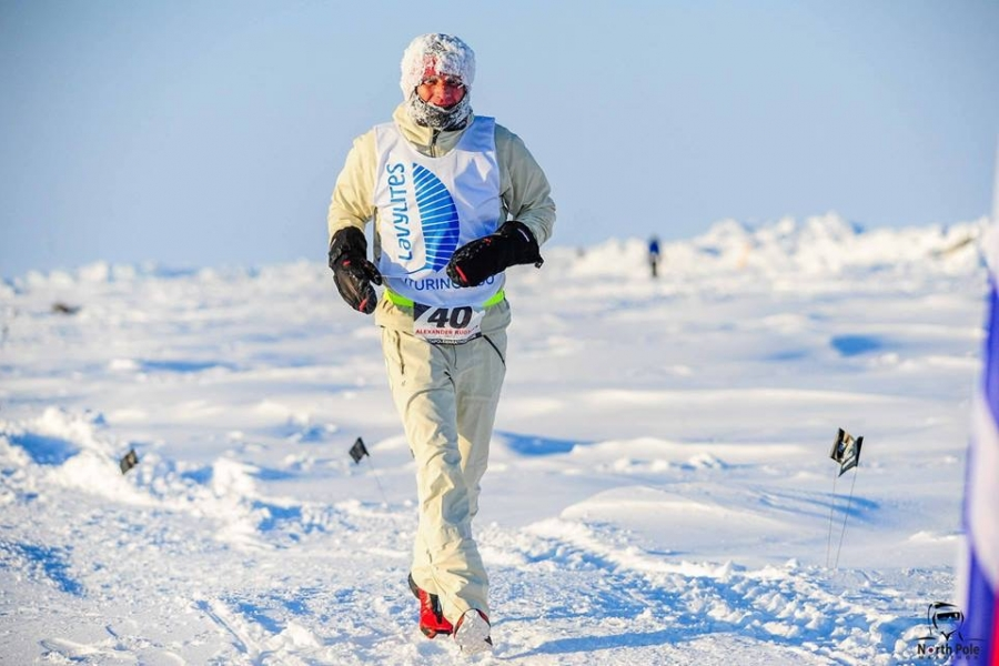Running on the Antarctica Ocean