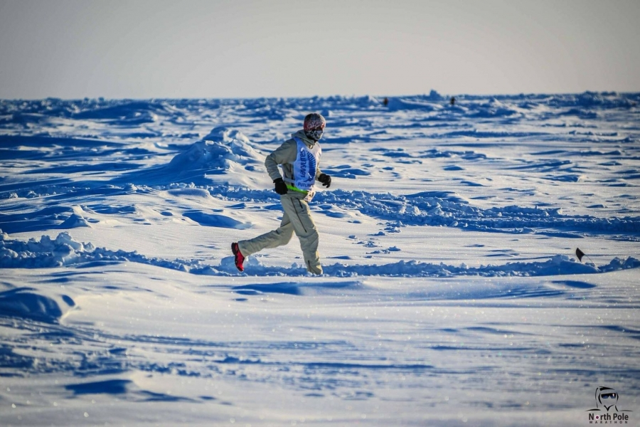 Running on the North Pole